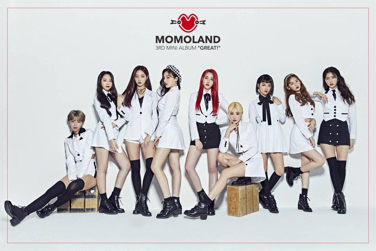 الحزن يُخيم على عضوات MOMOLAND بالرغم من فوزهن في برنامج 'Music Bank'!