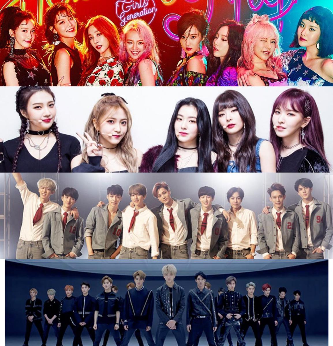شركة SM تكشف عن قائمة لعودات فرقها لعام 2018، من ضمنها:  عودة فرقة EXO، فرقة Girls'Generation فرقة NCT والمزيد!