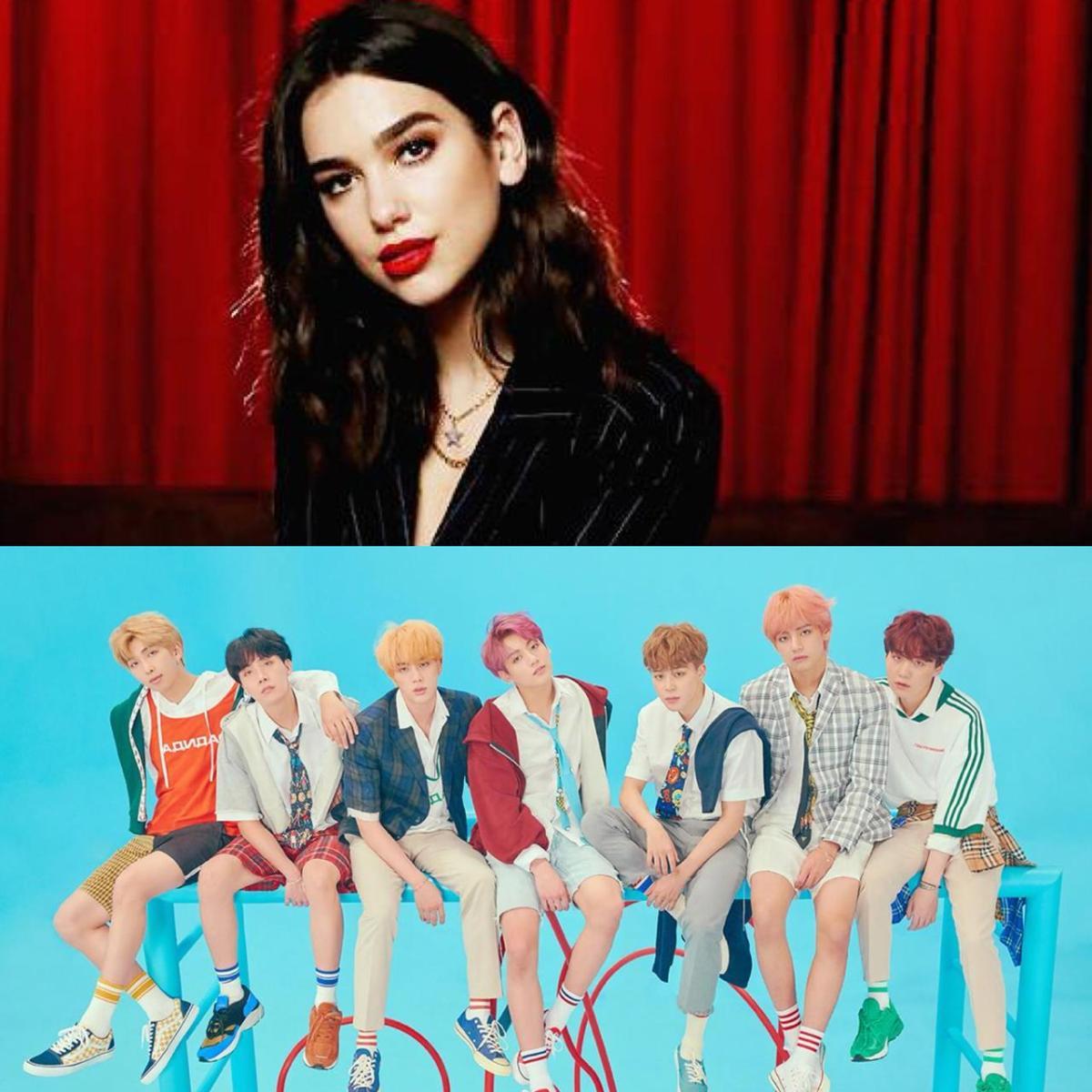 """الفنانة البريطانية دوا ليبا تُضيف أغنية """"Fake Love"""" لفرقة BTS إلى قائمة تشغيلها!"""