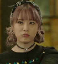 Youngji as rebellious Yoon An Na
