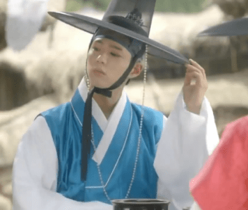 Park Bo Gum as Crown Prince before he liked Ra On