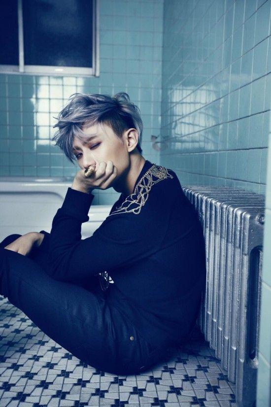 BEAST Hyunseung-troublemaker-kpopidol-kpopguyhairstyle-kpopidolhairstyles-kpopguyhairtrend-kpopmenhaircolor