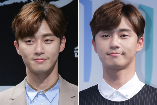 Korean actor kdrama Park Seo Joon 6:4 hair parting styles for guys