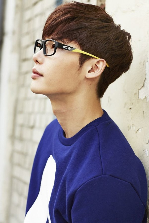 korean kdrama actor lee jong suk korean kpop asian men haircut two block hairstyle kpopstuff