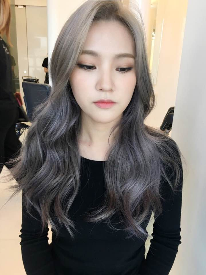 The New Fall Winter 2017 Hair Color Trend Kpop Korean