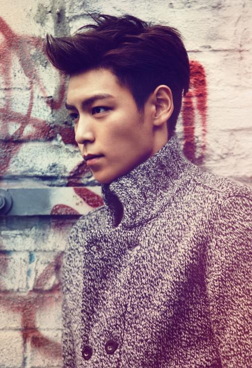 kpop korean actor big bang top medium two block haircut for guys kpopstuff