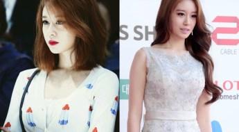 kpop girl group T-ARA Jiyeon haircut inspirations kpop idol short vs long hair