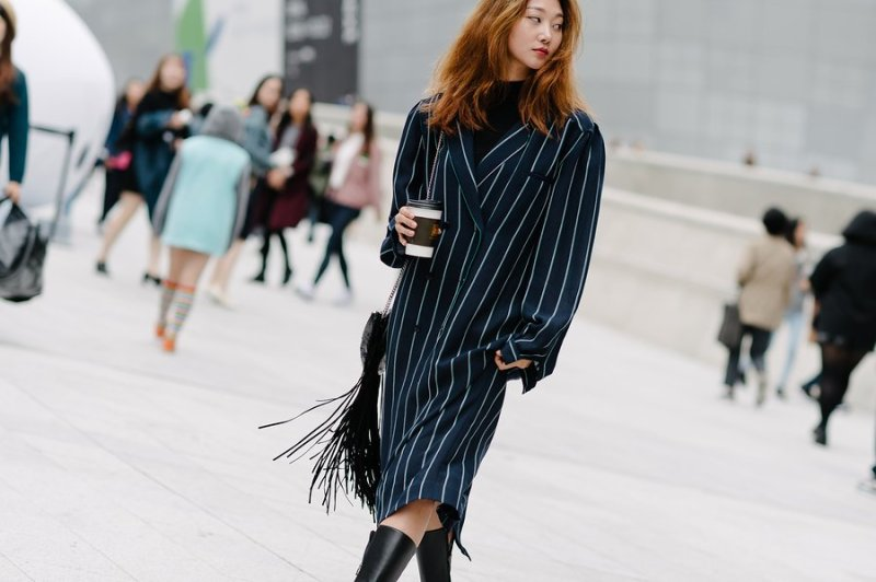kpop idols models fall seoul fashion week street style casual looks for girls women kpopstuff