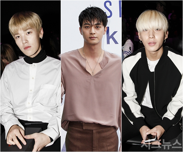 kpop idol men hairstyles hair seoul fashion week baps zelo jongup korean kdrama actor kim ji hoon kpopstuff bang hair