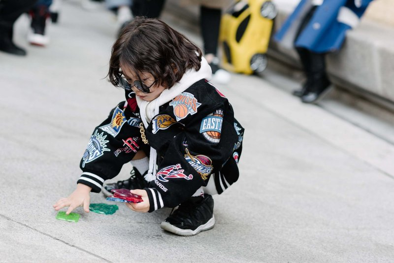 kpop korean idols models children seoul fashion week street style for boys kpopstuff