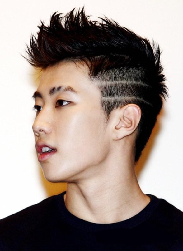 short two block haircut korean asian kpop men guy hairstyles haircuts jay park kpop