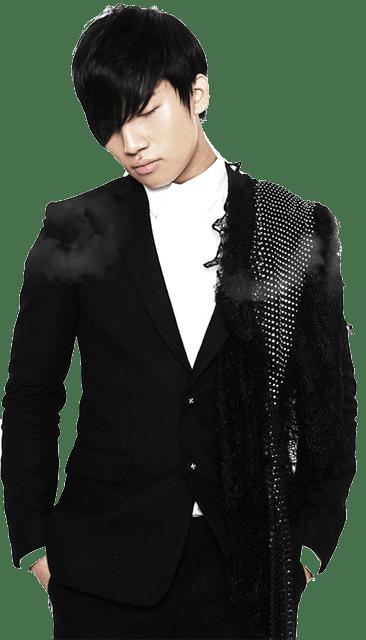 Korean kpop male boy idol Big Bang Daesung black natural hair color dye hairstyles for guys kpopstuff
