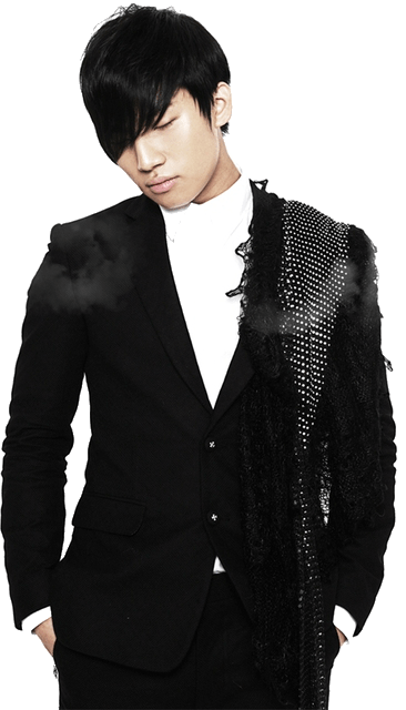 Korean kpop male boy idol Big Bang Daesung black natural hair color dye hairstyles for guys kpopstuff