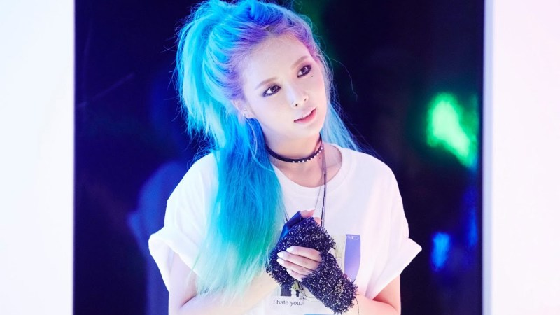 korean kpop idol 4minute hyuna roll deep hairstyle hair colors for girls kpopstuff