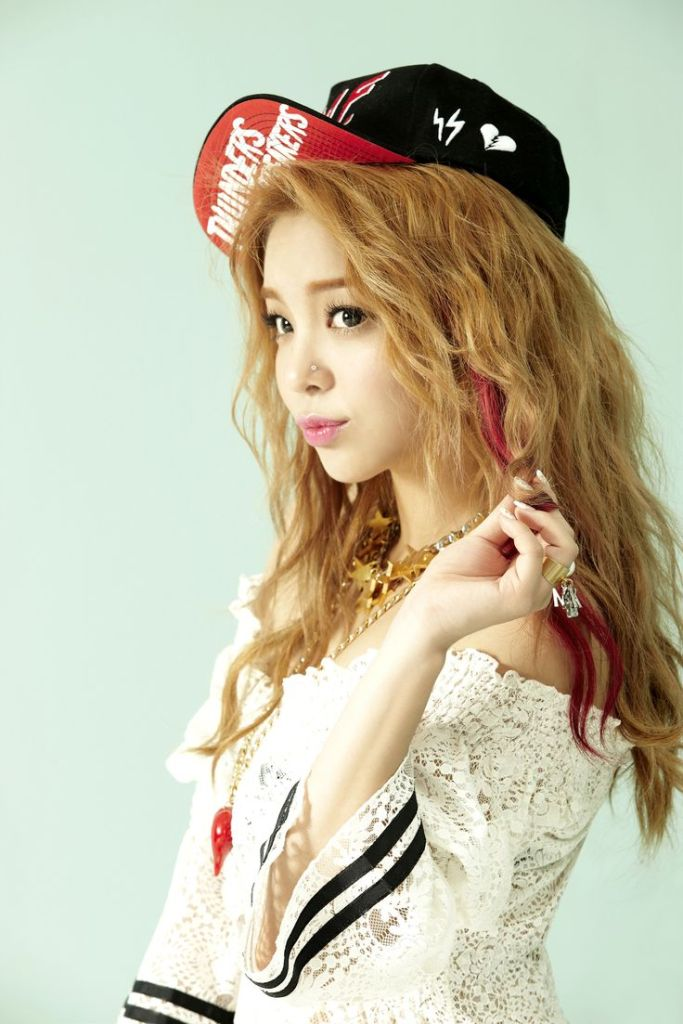 korean solo singer kpop ailee curly wavy permed hair hairstyles for girls kpopstuff