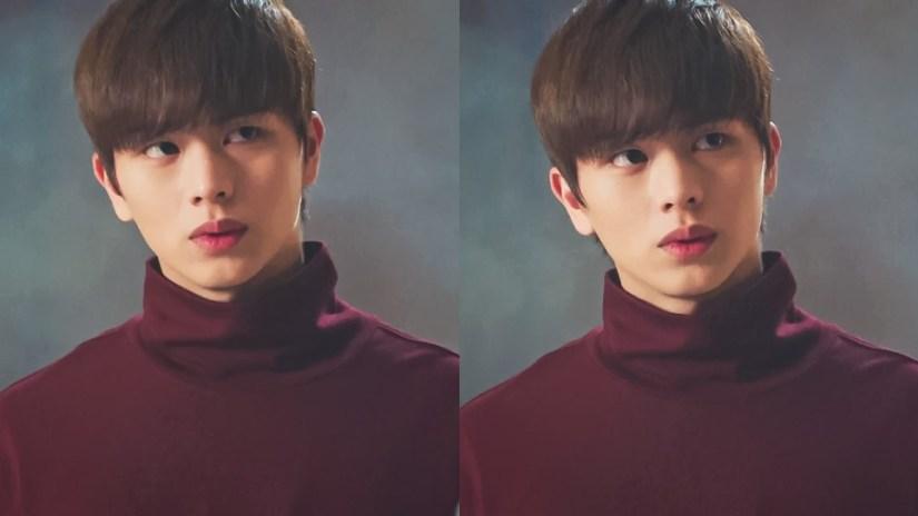 kpop korean boy group band yook sungjae's goblin hairstyle of btob kdrama actor goblin guardian hair color dye dandy cut hairstyles haircuts for guys kpopstuff