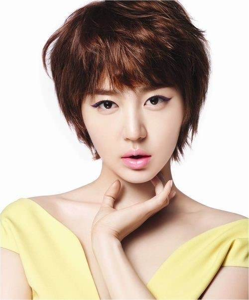 Park Shin Hye Short Hair With Bangs