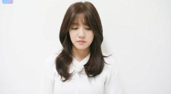 korea korean girls women kpop idol celebrities kdrama long layered wavy hairstyles kpopstuff