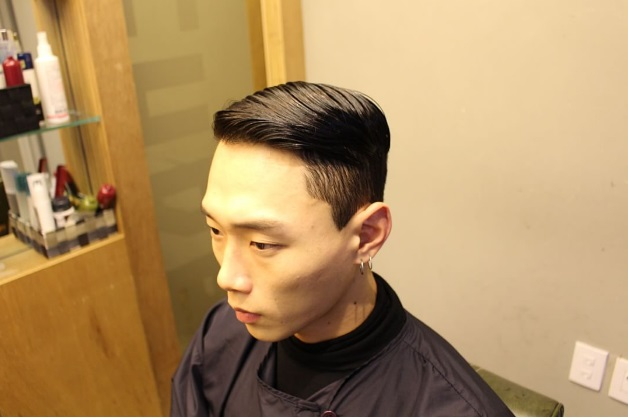 Pomade Hairstyles 3 hairstyles using fifth sample styling mask pomade by blumaan mens hair march 2017 Korea Korean Kpop Idols Actors Celebrities Trends Trend Trending Clean Cut Pomade Haircut Easy Hairstyles For