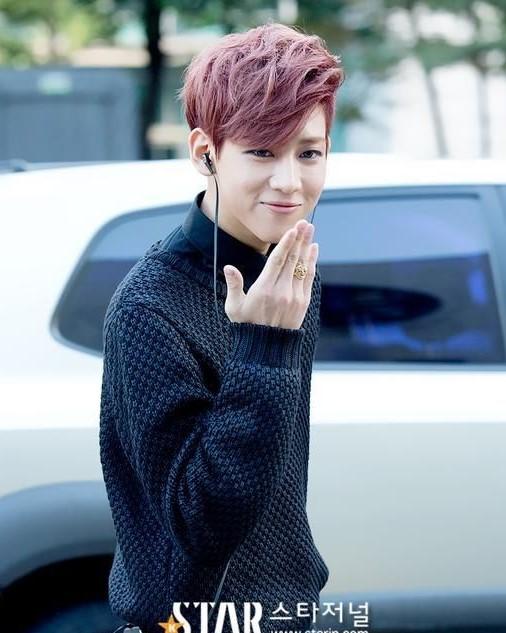 Got7 Bambam S Unbalanced Two Block Haircut Kpop Korean Hair And Style