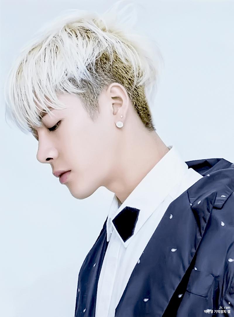 korea korean kpop idol boy band group got7 jackson\u0027s two block hair cut  hair blonde color