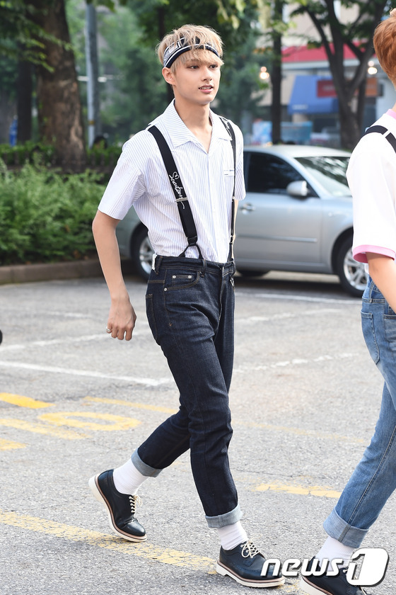 SEVENTEENu0026#39;S SUSPENDERS FASHION - Kpop Korean Hair and Style