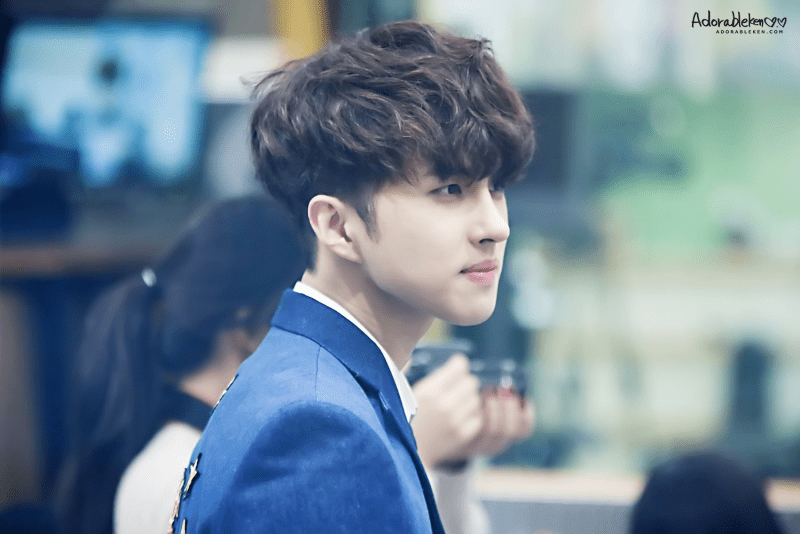 korea korean kpop idol boy band group vixx ken's two block haircut trending haircut curly wavy permed hairstyles for guys kpopstuff