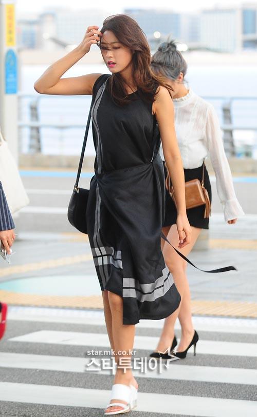 aoa seolhyuns dress fashion kpop korean hair and style