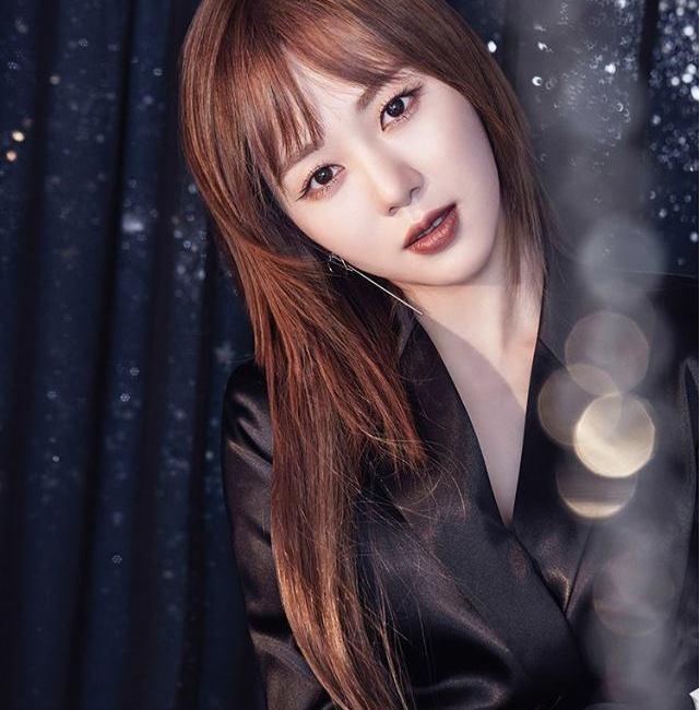 korea korean kpop idol girl group band aoa mina's layered cut haircut for girls bing bing mv kpopstuff