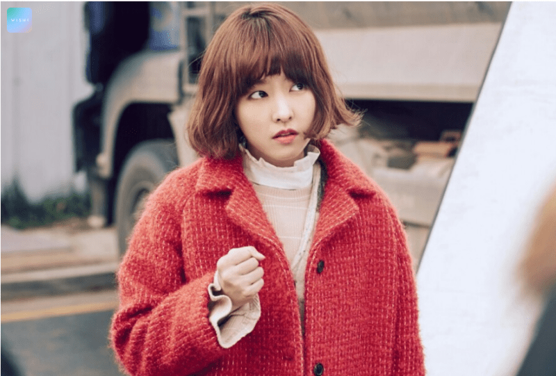 korea korean drama actress strong woman do bong soon - park bo young's hairstyle permed short haircut hairstyles for girls kpopstuff
