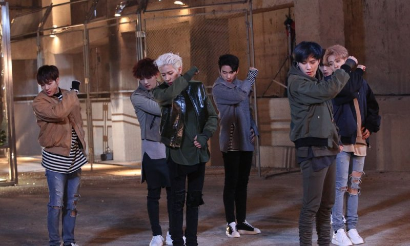 korea korean kpop idol boy band group GOT7's never ever fashion looks outfit jacket bombers for guys kpopstuff main