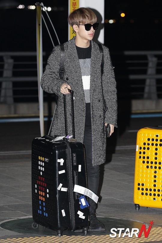 korea korean kpop idol boy band group ikon fashion favorites song yunhyeong modest outfit long coat winter black styles for guys kpopstuff