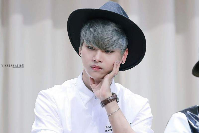 korea korean kpop idol boy band group vixx fedora fashion n black wide brimmed hat white fashion looks outfit style for guys kpopstuff