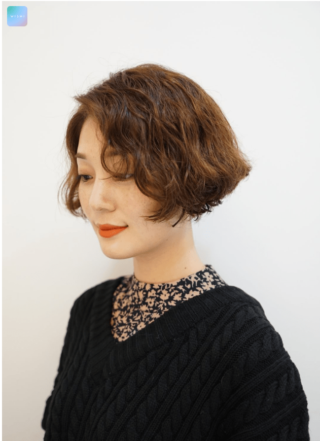 Short Bob Hippie Perm Hair Trend Archives Kpop Korean
