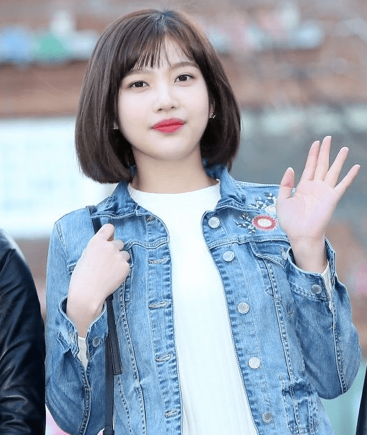 korea korean kpop idol girl band group red velvet joy's the liar and his lover hairstyle kdrama short bangs bob haircut hairstyles for girl