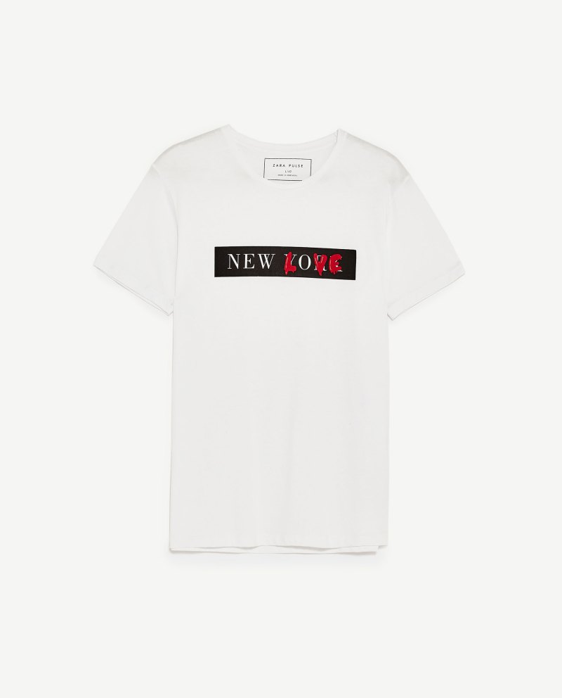 korea korean kpop idol boy band group exo baekhyun's airport fashion t shirt born this way dupe zara new love printed text shirt style guys men kpopstuff
