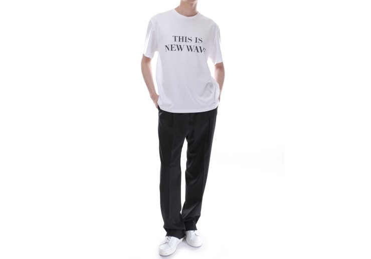 korea korean kpop idol boy band group exo baekhyun's airport fashion t shirt denim jeans coat casual styles born this way white shirt guys men kpopstuff