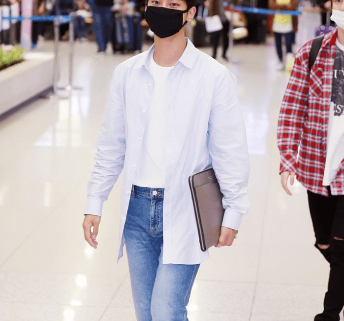 Kpop Idol Vixx N Airport Fashion Simple Casual Style Outfit Guys Archives - Kpop Korean Hair And ...