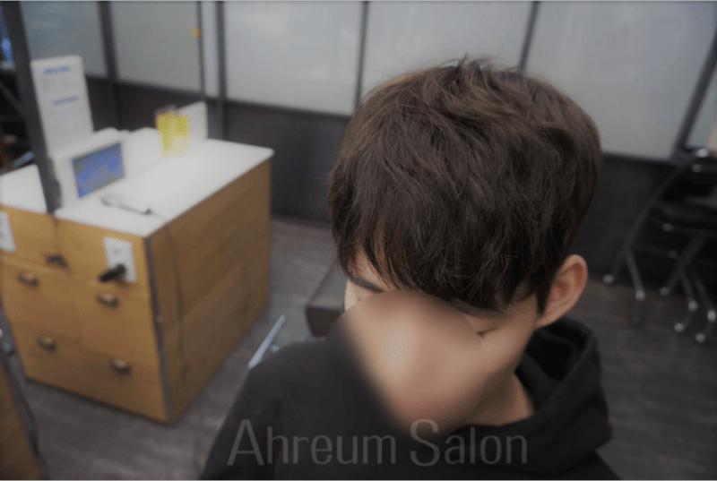 korea korean kpop idol boy band group zea park hyung sik's do bong soon hairstyle above shot salon parting perm natural hair guys men kpopstuff