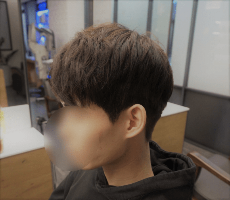 korea korean kpop idol boy band zea park hyung sik's do bong soon hairstyle salon side view natural permed men guys hairstyles kpopstuff