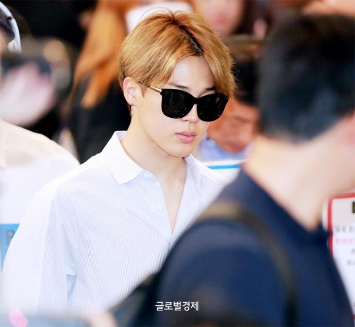 74b16027ec507 Korea Korean Kpop Idol Boy Band Group Bts Airport Looks Bangtan Boys