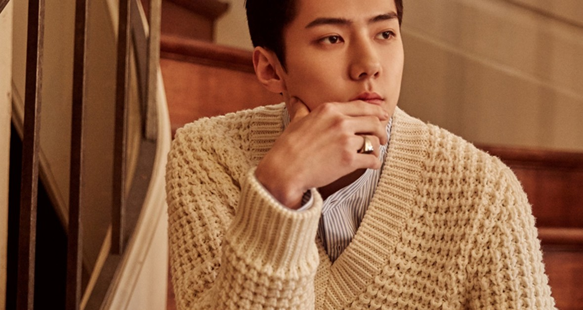 korea korean kpop idol boy band group exo sehun fashion style for marie claire outfits comfy winter fall kpopstuff main