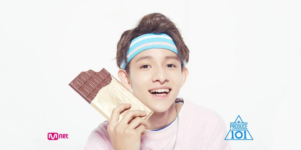 korea korean kpop idol boy band group produce 101 2 kim samuel's hair looks punch seventeen hair hairstyles guys boys cover