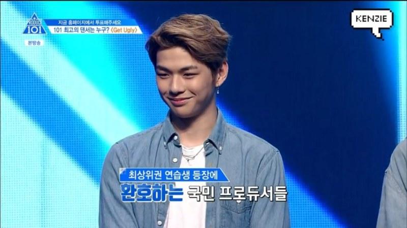 korea korean kpop idol boy band group produce 101 kang daniel brown ash colorful hair hairstyles guys men kpopstuff