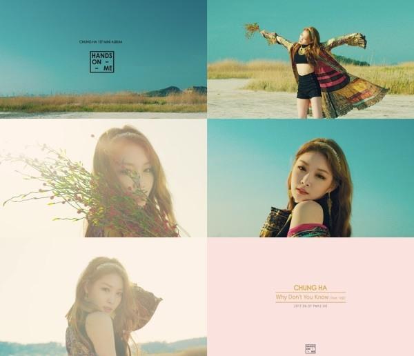 korea korean kpop idol girl band group IOI kim chungha's fashion why don't you know mv style outfits girl crush bohemian main