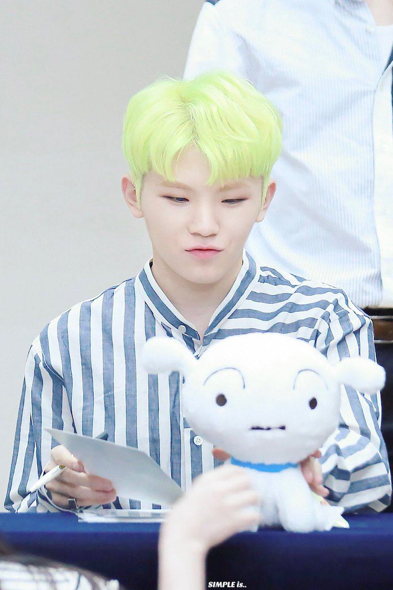 Seventeen Woozi S Hair Colors Kpop Korean Hair And Style