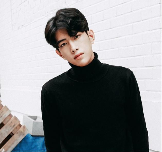 korea korean kpop idol artist group male model parting perm with two block cut haircut hairstyles guys men kpopstuff
