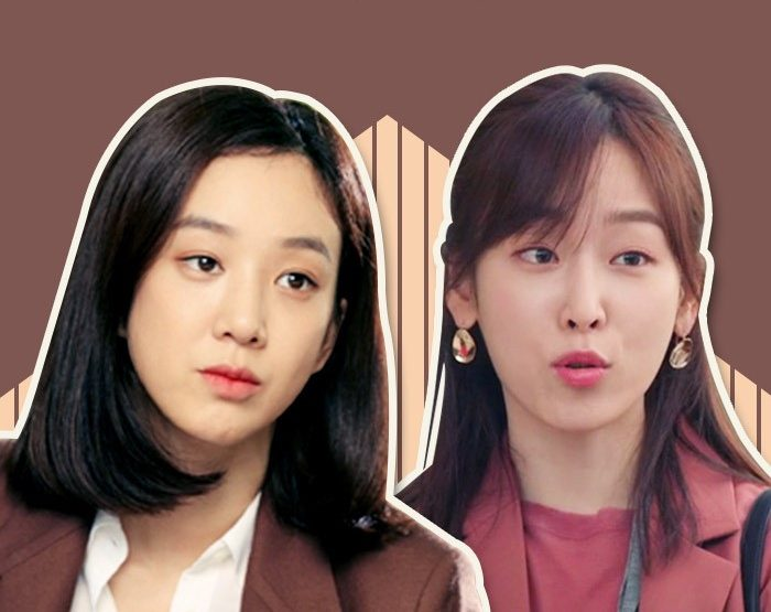 korea korean kpop idol drama kdrama hairstyles medium c curl perm temperature of love seo hyun jin witch's court jung ryeo won hairstyle women girls kpopstuff