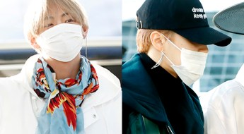korea korean kpop idol boy band group BTS bangtan jimin v taehyung 95 liner bts mama airport fashion luxury casual looks style guys men kpopstuff main