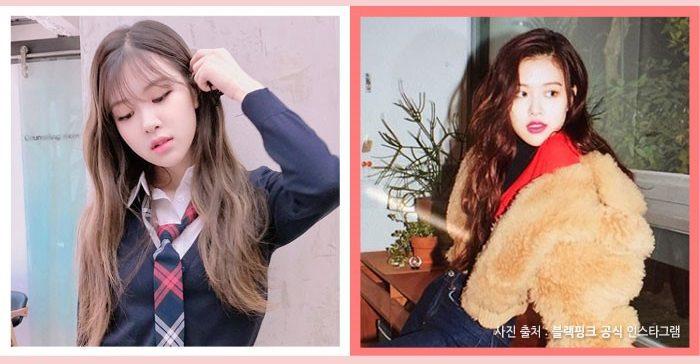 korea korean kpop idol girl group band blackpink rose choco brown darker kpop hair looks winter trends hairstyles girls women kpopstuff